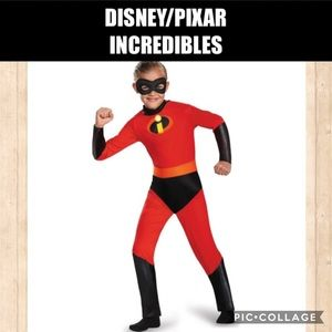DISNEY/PIXAR Incredibles Dash Costume Size MED 7-8